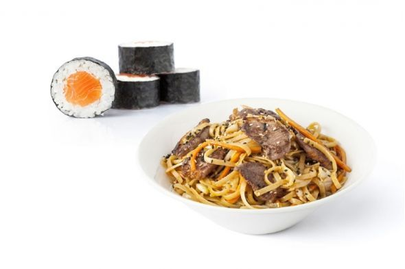 Menú wok