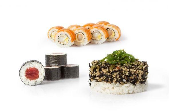 Menú sushi