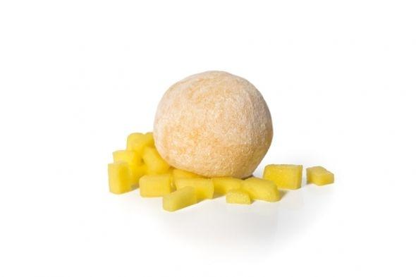 Mochi de piña y coco