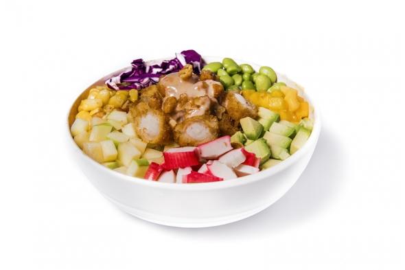 Ebi tempura bowl