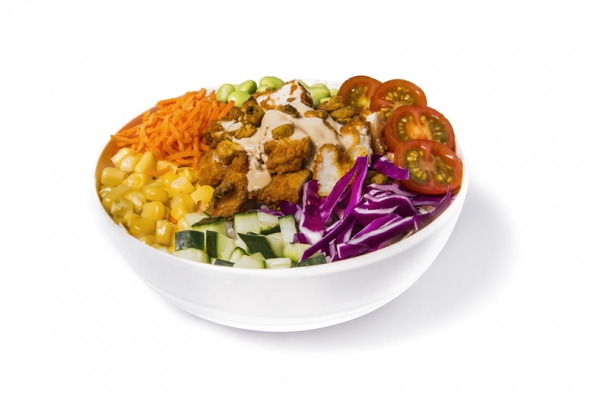 Hot chicken bowl